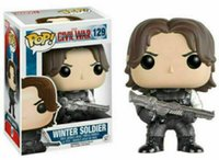 Funko Pop Winter Soldier Marvel Civil War Captain America Vi...