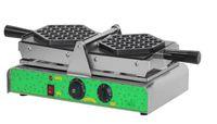 Ücretsiz Kargo Ticari Elektrikli 110 v 220 v Roating Yumurta Waffle makinesi Bubble waffle