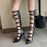 Doratasia New Sale Sexy Big Size 46 Thin High Heels Belt Buc...