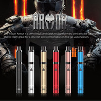 Authentique Yocan Armure de cire Portable Vaporizer Vape Pen pour le concentré 380mah batterie tension réglable Yocan Evolve Plus quartz bobine