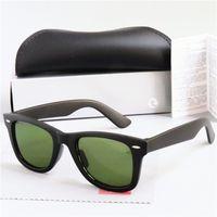 Venda Hot Brand Design Sunglasses Vintage Pilot Sun Glasses Banda polarizado UV400 Homens Óculos Mulheres óculos de sol Polaroid lente de vidro