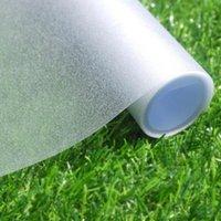 2/3 / 5m fönster integritet film frostat matt vit självhäftande dekorativ film ogenomskinlig fönster klistermärke anti-uv vinyl fönster blind