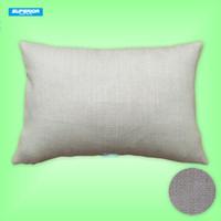 1 pz 12x18 pollici cotone misto poliestere misto lino copertura del cuscino pianura tela cuscino fodera in cotone cuscino per sublimazione