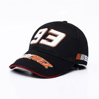 Baseball Cap Moto Racing 93 logo Embroidery Casual Snapback ...
