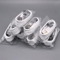 빠른 USB 마이크로 데이터 동기화 충전 케이블 삼성 S7 S6 주 4 100 % OEM 품질 1.2M 케이블, DHL 무료 배송