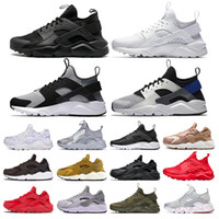 Huarache 4. 0 1. 0 Classical Running Shoes Triple White Black ...