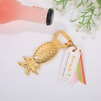 Party Favors Gold Pineapple Bottle Opener Wedding Favor Beer...