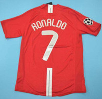 Top 2008 FINAL MOSCOW RONALDO Retro Jerseys Classic Vintage ...