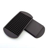 Оптовая Силиконовые Ice Cube Tray Mini Cube Силикон Maker Mold Замораживание Mold Ice Cube Плесень льда решений Box Плесень Мороженое Инструменты DBC DH0633