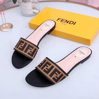 2019 designer slides Luxury Women Sandals luxury Slippers Fl...