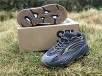 531d4be73 Zapatillas deportivas auténticas originales con caja de 700M2 Geode Dark  Brown Black Man Woman 3M Reflective