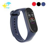 Vitog M4 Smart-Armband-Sport-Fitness Tracker Intelligent-Uhr-Puls-Smart-Armband-Armband-Mode-Uhr vs m3