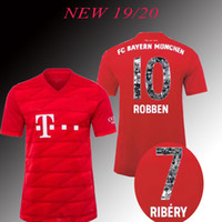 FC 2019 2020 new james MULLER Bayern Munich HOME Soccer Jers...