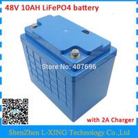 48 Volt LiFePO4 pil 48 v 10ah Ücretsiz gümrük ücreti 16 S 3 P pil paketi kullanımı 3.2 V 3300 mah 26650 hücreleri ile 58.4 V 2A Şarj