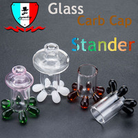Glass stander for carb cap Universal Glass Carb Cap Dome for...