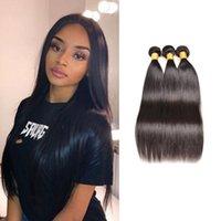 8A класс перуанская прямая волна человеческих волос плетет 3-4 пучка воды тела вьющиеся Яки волны Umprocessed наращивание волос