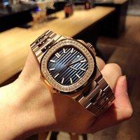 Aaorologio di lusso Relógio de pulseira de aço para homem Cal.324 movimento de corda automático relógios de luxo relógios de grife montre de luxo relógios de moda