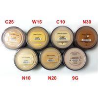 Heißer Verkauf Make-up Mineralien Foundation 8g Medium / Light / Fair / Tan / Ziemlich Hell / Medium Beige / Mineral Vail Hohe Qualität DHL-freies Schiff