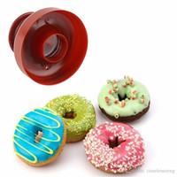 Doughut Donut Maker Cutter Mal voor Desserts Zoete Voedsel Bakkerij Bakken Cookie Cakevorm Keuken Siliconen Mold Dessert Tool