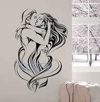 Vinile Adesivo Amore Sexy Donna Uomo Passione Adesivi Home Room Interior Design Art Murales Teen Decor