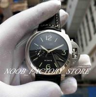 مبيعات المصنع 1950 سلسلة 6 أيام حزام جلد سوبر الميكانيكية التلقائي حركة السلطة الاحتياطي الأزياء الغوص رجل الساعات الأصلي مربع