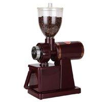 Atacado 110V / 220V elétrico moedor de café grão de cereal Especiarias Miller Coffee Bean moagem engrenagem da máquina 8