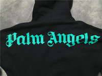 2019SS pop Palm Angels Brief drucken Männer Frauen Pullover hoodies Hip Hop Palm Angels Kleidung Mode Streetwear Top Sweatshirt