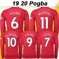 2019 20 POGBA ALEXIS Adult Long Sleeve Soccer Jerseys New LU...
