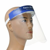Face Shield Protective Mask Full Face Clear Band Elastic Reu...