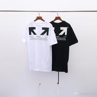 bd230682b 100% off 2019 Sommer Luxus Marke Designer Herrenbekleidung Weiße T-Shirts  Druck Mode Tees