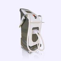 Taibo Горячие продажи для вертикальных двух ручек IPL и ND YAG Laser IPL Opt Лазерная машина удаления волос