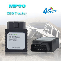 GPS Tracker 4G OBD II LTE MP90 Monitor de Voz Fácil de Instalar Plugue Conector alarme Geo-Cerca Alarme GPS Tracker Car APP em tempo real na Web grátis