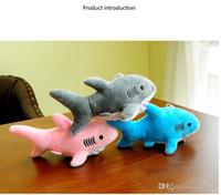 I peluche di squalo mescolati con bambole portachiavi da 18 cm peluche di peluche; squalo giocattoli di peluche ciondolo regali bouquet di nozze