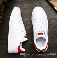 2019 ALTA QUALITÀ new stan scarpe fashion brand smith sneakers casual uomo in pelle donna sport sneakers da jogging classiche flats Scarpe casual SSW