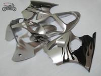 kits de carenado chinos de alta calidad para Kawasaki 2005 2006 2007 2008 ZZR600 ZZR 600 05 06 07 08 plástico ABS conjunto carenados Injection