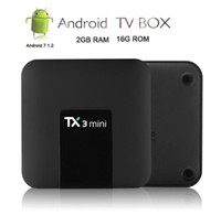 2019 new TX3 Android 7. 1 TV Box 2gb 16gb Amlogic S905W TX3 m...