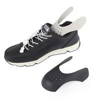 Sneaker için ayakkabı kalkanlar anti kırışık buruşuk kat desteği toe kap spor top ayakkabı kafa sedye