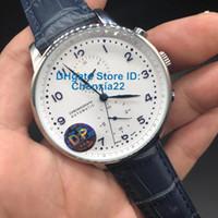 DP usine Marque Montre Blue Face Stable Mouvement Automatique Non Chronographe Blue cuir fermoir originale meilleure qualité Montre homme