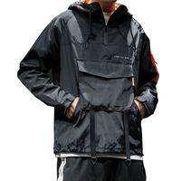 Trenchs de Hommes Mode Hommes Veste à capuche PIZEX Sweat à capuche occasionnel Sweat à capuche de hip-hop confortable
