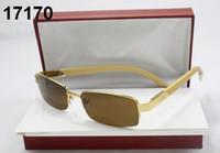 óculos de sol dos homens do desenhista óculos máscaras do vintage senhoras oversize óculos sem aro de luxo marca de moda condução óculos de pesca com caixa