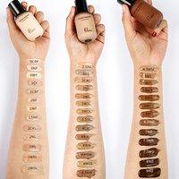 PUDAIER 40ML MATE Maquillaje Foundation Cream for Face Professional Oculting Make Up Base tonal Base Alta cobertura Líquido Fundaciones de larga duración