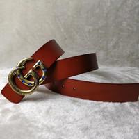 5b0df4f7047 Brand new designer de couro original fivela grande cinto dos homens luxo  fivela cinto top fashion