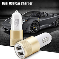 USB Car Charger Universal Cellphone Charger Metal Travel Ada...