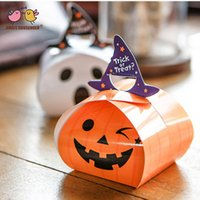 (50pcs lot) Pumpkin Ghost Snack Candy Biscuits Cookies Packa...