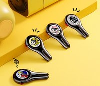 Magnética del anillo del sostenedor del soporte del teléfono culo de la rana FA-K05 creativo enchufe del coche soporte de sobremesa 360 ° soporte para teléfono diseñador Magnética