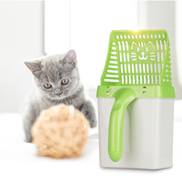 Useful Cat Litter Shovel Pet Cleanning Tool Plastic Scoop Ca...