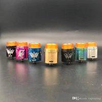 Rapture 24mm RDA Clone Dripping Replaceable Atomiseur pei pointe goutte à goutte 7 couleurs Vaporizer VAPE DHL gratuit 1