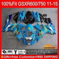 Инъекция Rizla Blue для Suzuki GSXR 600 750 GSXR750 11 12 13 14 15 16 10HC.24 GSXR-600 K11 GSXR600 2011 2011 2011 2013 2013 2014 2011