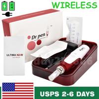 Draadloze Dr.Pen N2-W Elektrische Skincare Microneedling Beauty Kit +2 Naalden in de VS.