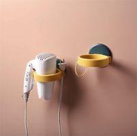Новый самоклеящийся фен держатель из нержавеющей стали ванная комната настенные полки для хранения фен стойки фен держатели бесплатно удар